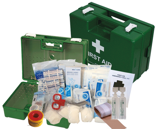 25 Person Office First Aid Kit (Large Wall Mount Box)
