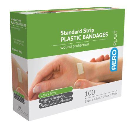 AEROPLAST-PLASTIC-PLASTERS-72MM-X-19MM-BOX-100