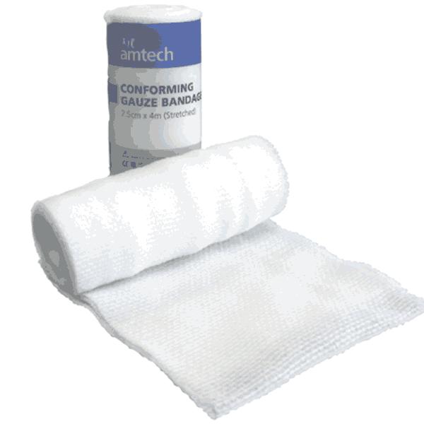 Conforming Gauze Bandage 5cm x 4m