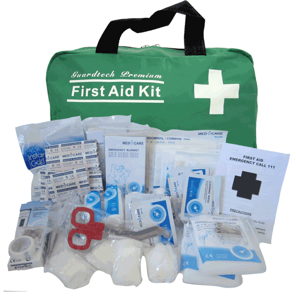 Large Premium First Aid Kit Guardtech First Aid Kits And