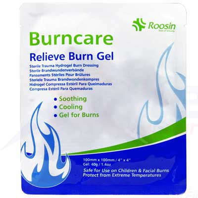 Burncare Relieve Burn Gel Dressing - 10cm x 10cm