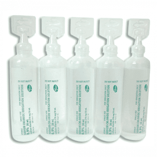 Saline Solution 15ml ampoule (1 x 30ml ampoule)