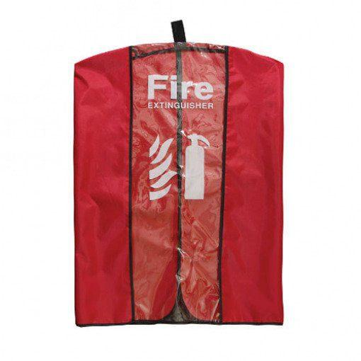 Clear Vinyl Extinguisher Cover (fits  9kg extinguishers)