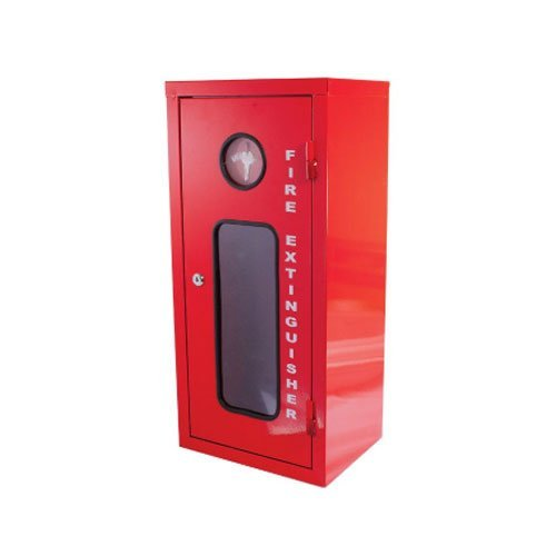 Galvanised Metal Extinguisher Cabinet Fits 4.5kg