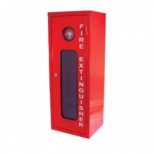 Galvanised Metal Extinguisher Cabinet Fits 9kg