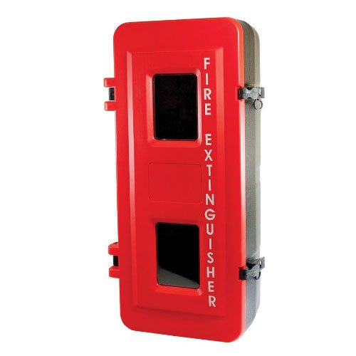 Heavy Duty Plastic Extinguisher Cabinet Fits 4.5KG