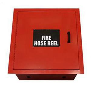 Fire Hose Reel Full Cabinet - Stainless Steel 19mm x 25m - AS/NZS 1221