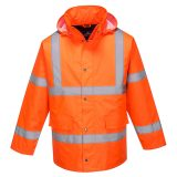 Hi-Vis Cross Back Traffic Jacket