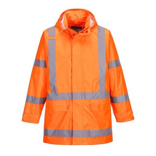 TM610 - TTMC-W17 X-Back Rain Jacket Orange